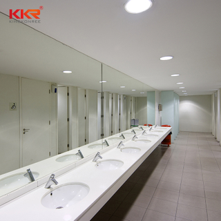 KKR Aangepast High-End Design Marmeren Solid Surface Badkamer Countertop